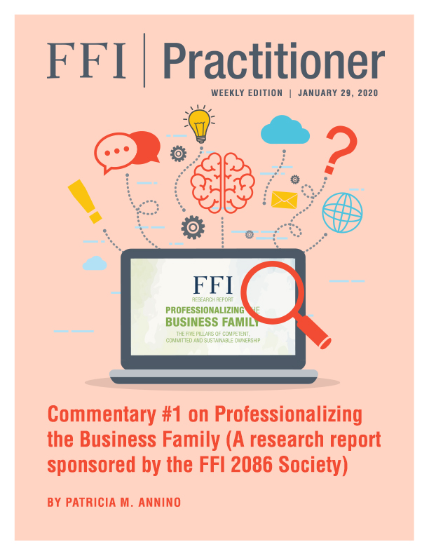 FFI Practitioner: January 29, 2020 cover
