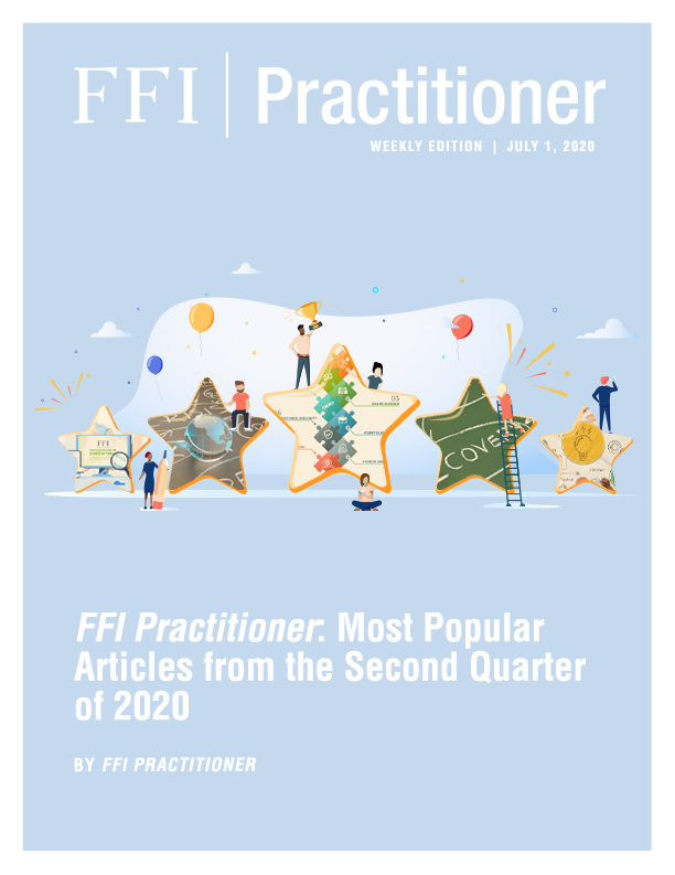FFI Practitioner: July 1, 2020 Cover