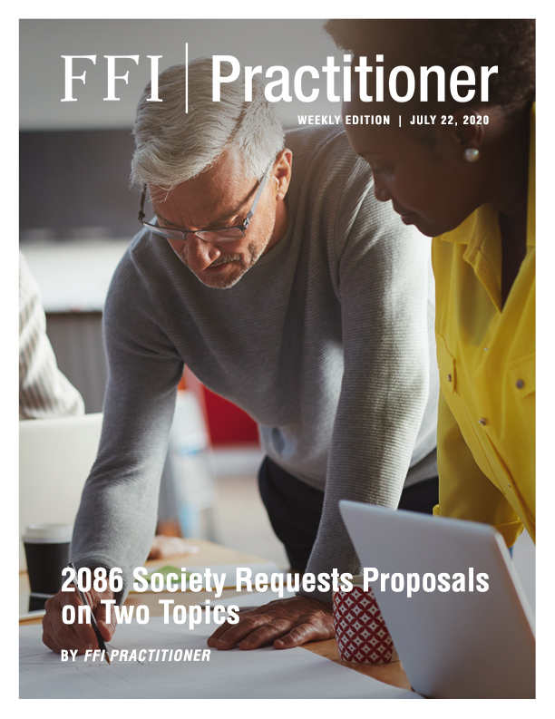 FFI Practitioner July 22, 2020 Cover