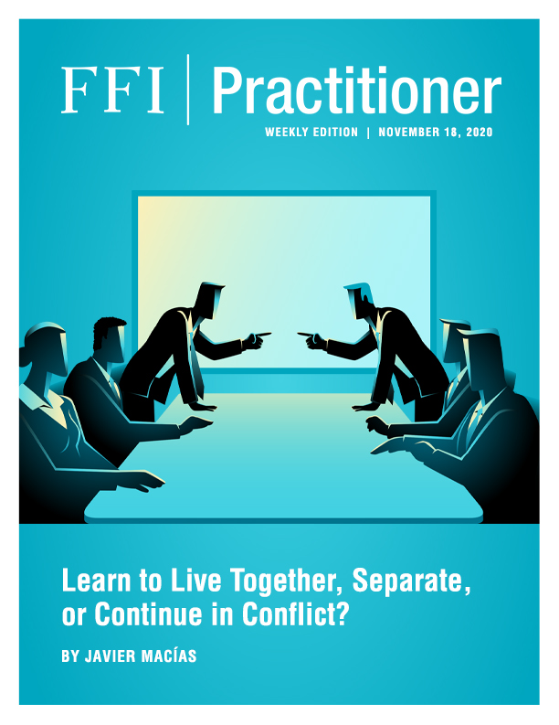 FFI Practitioner: November 18, 2020 cover