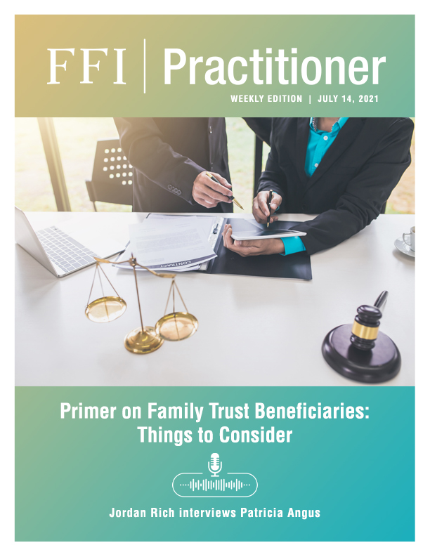 FFI Practitioner: July 14, 2021 cover